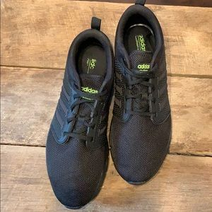 Adidas black/black sole size 11 cloud foam groove